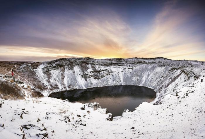 kerid en hiver -voyager en islande