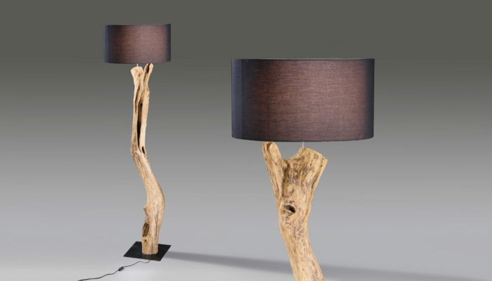 fabriquer sa lampe en bois flott design de maison design de maison. Black Bedroom Furniture Sets. Home Design Ideas
