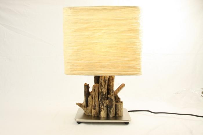 lampe moderne bois