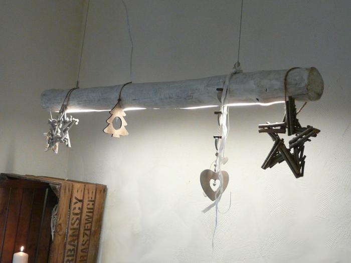 lampe suspendu de bois