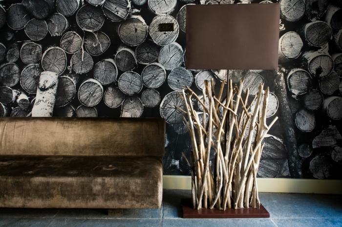 lampe ultra moderne bois
