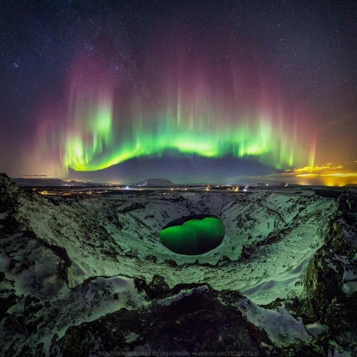 les paysages voyager en Islande