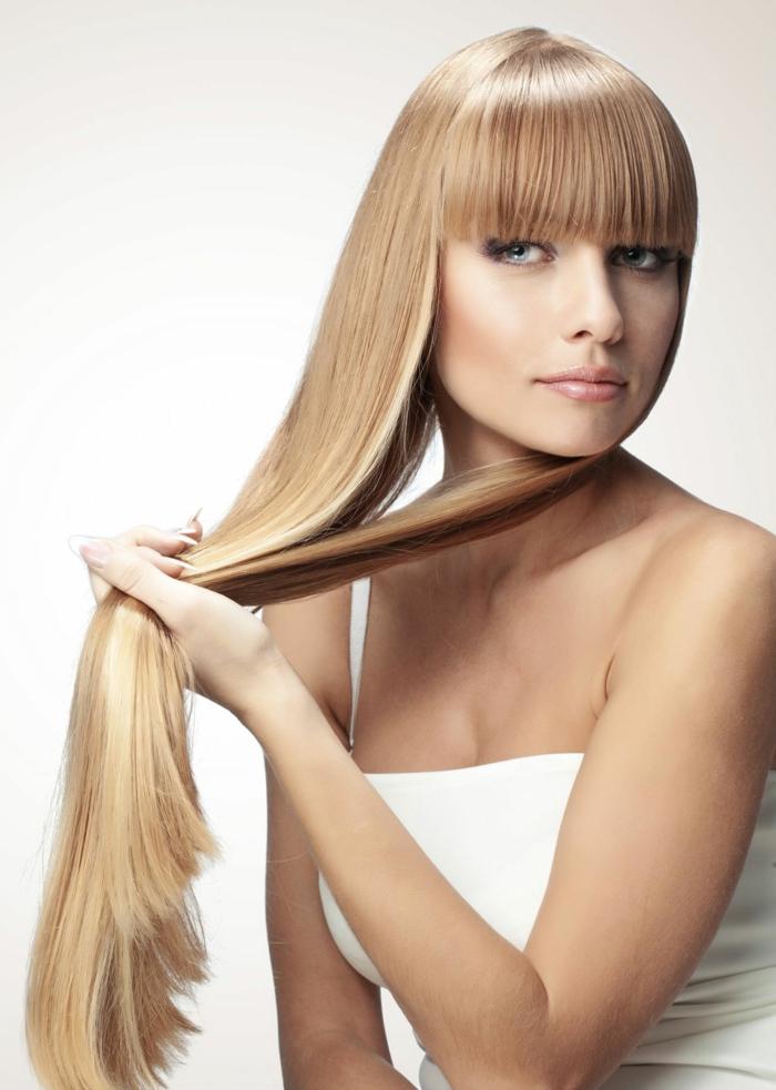 lissage brésilien cheveux longs