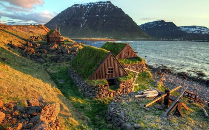 maison en Islande -voyager en islande