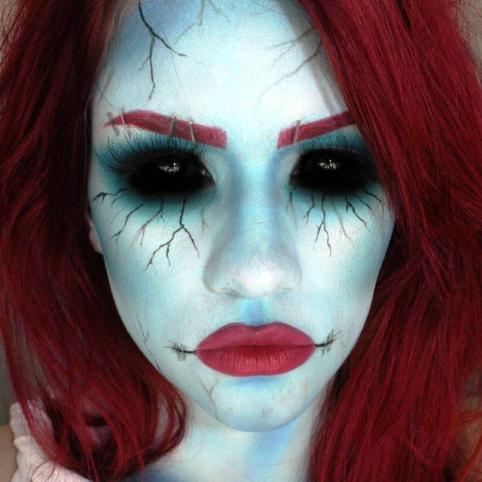 maquillage femme pour halloween