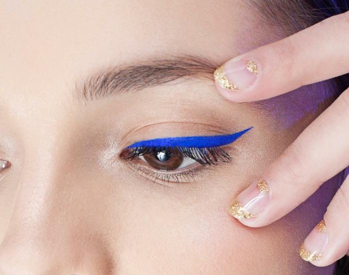 maquillage idées comment appliquet le trait eye liner