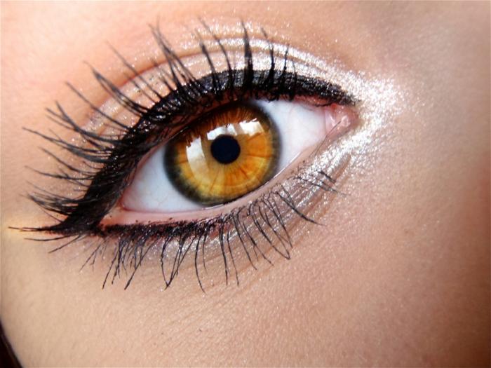 maquillage magnifique- trait eye liner noir