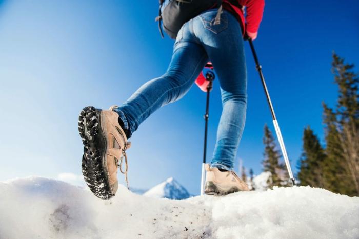 marche nordique activité pour l'hiver