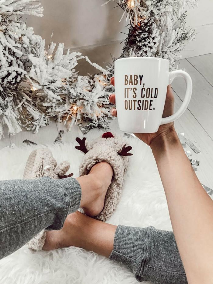 message sur un mug idées cadeaux Noël