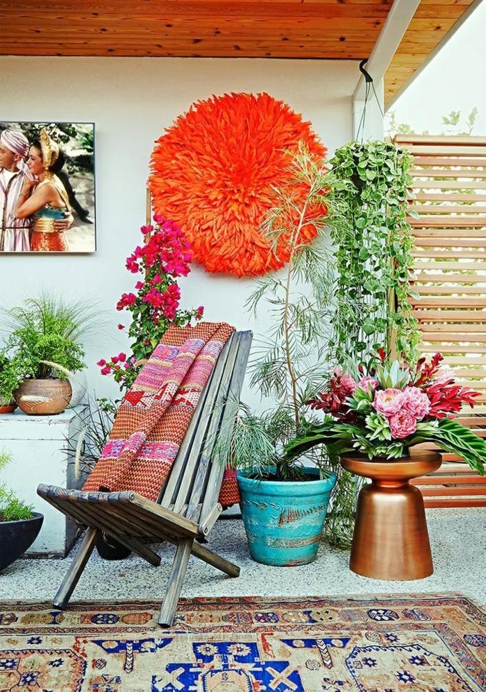 patio style boho
