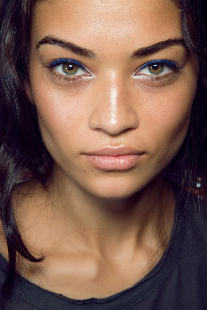pour les yeux verts trait eye liner idées
