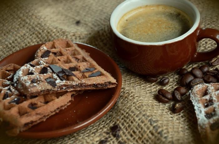 recette gaufre avec cacao