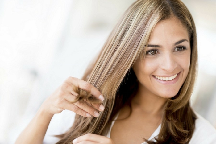 réparer les cheveux