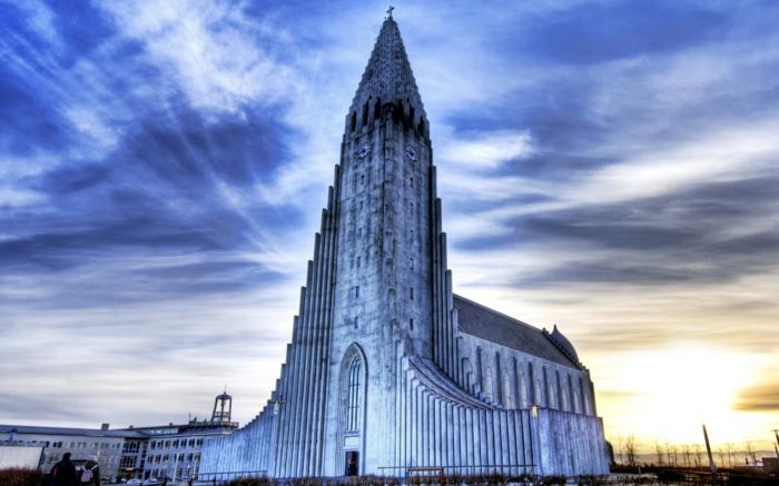 Reykjavik architecture- voyager en Islande