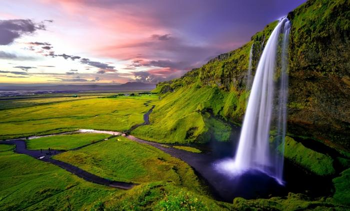 seljalandsfoss -voyager en islande