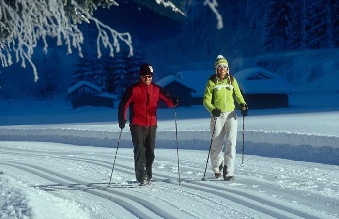 sport hiver marche nordique