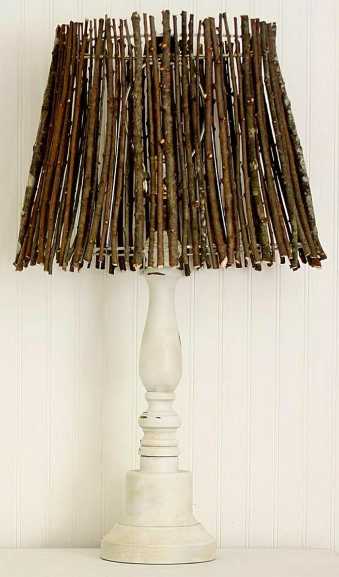 superbe lampe bois