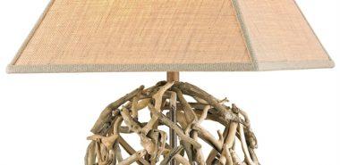 table de bois flotté