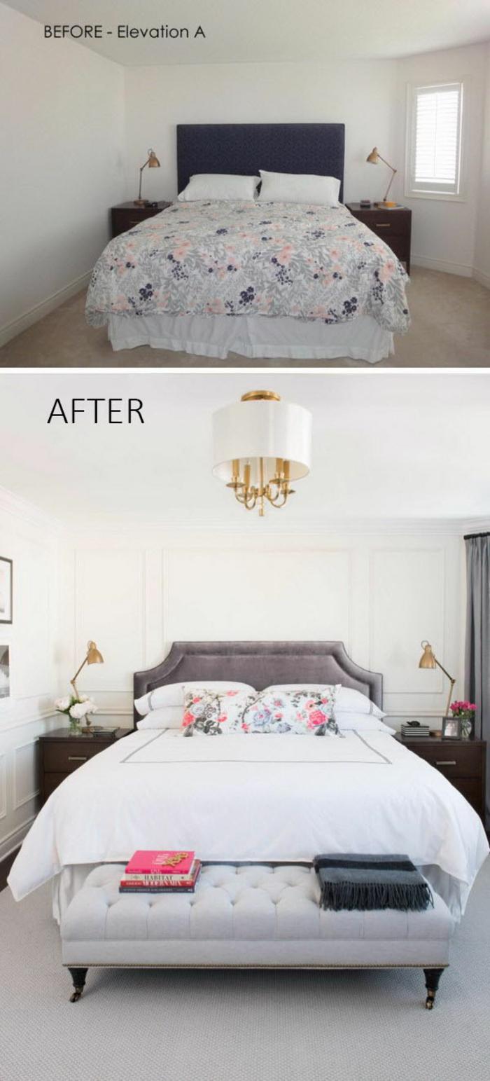 tapis pour la chambre- couleur pour agrandir une pièce