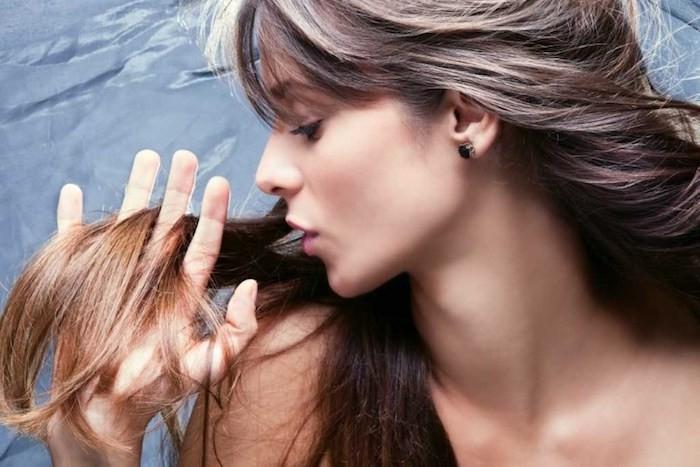 thérapie cheveux longs