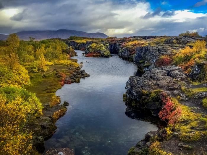 thingvellir -voyager en islande