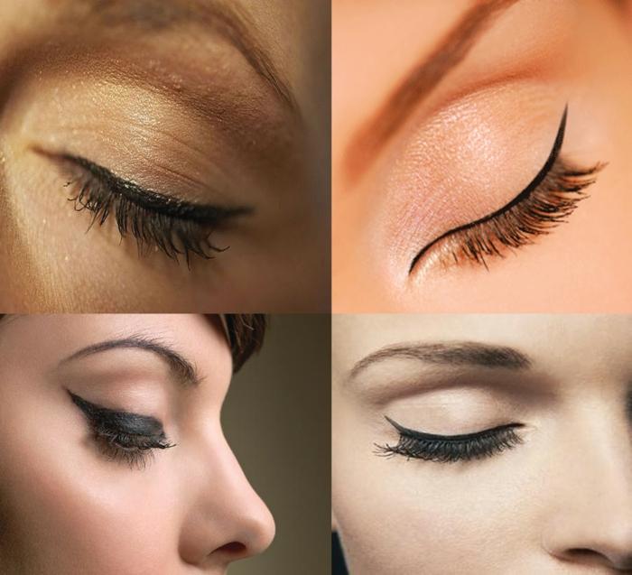 trait eye liner idées