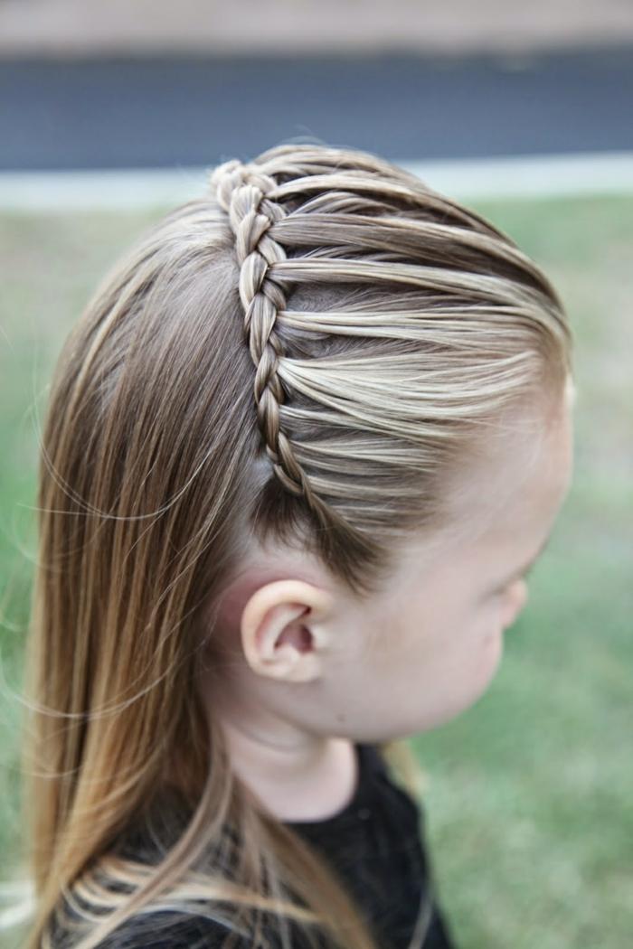 Relativ Coiffure petite fille - idées magnifiques pour votre princesse GU83