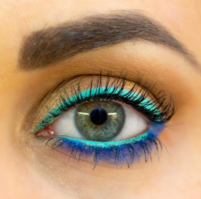 yeyx verts trait eye liner idées