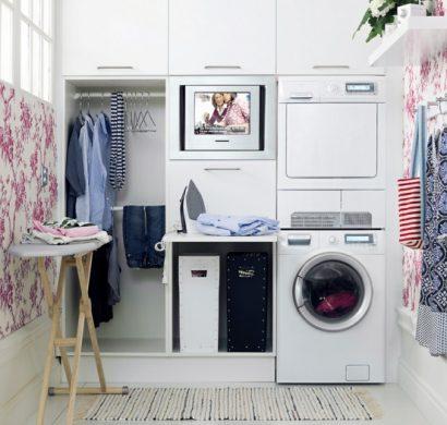 am nagement buanderie cr er un espace fonctionnel et. Black Bedroom Furniture Sets. Home Design Ideas