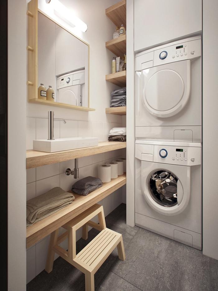 am nagement buanderie cr er un espace fonctionnel et bien optimis. Black Bedroom Furniture Sets. Home Design Ideas