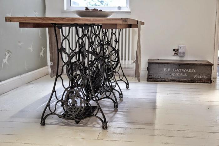ancienne machine à coudre décoration