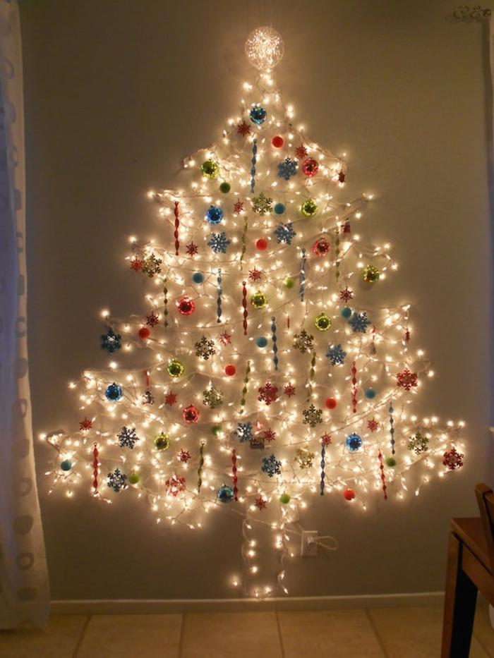 arbre noël lampes diy