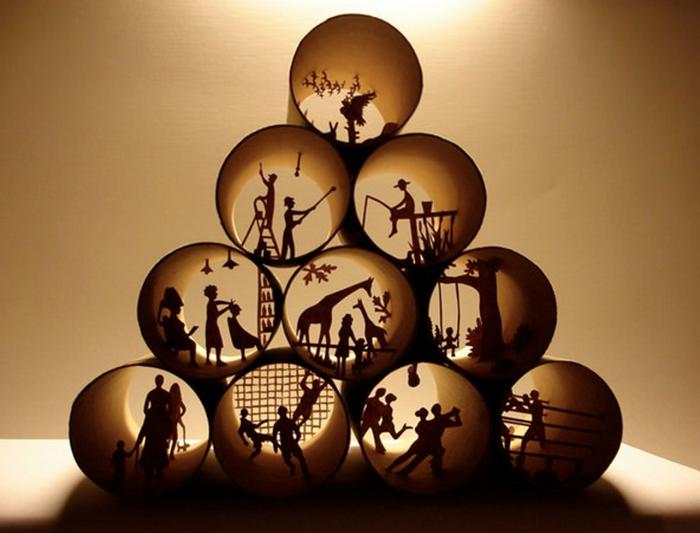 art cylindres de papier toilette