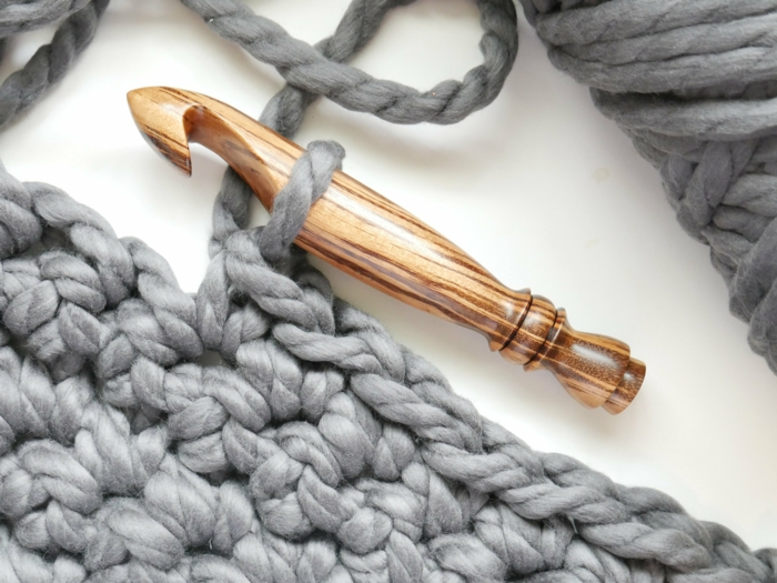 auguille géante arm knitting