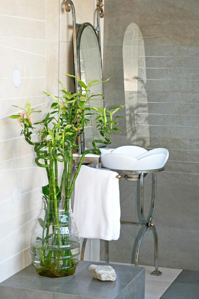 bambou salle de bains