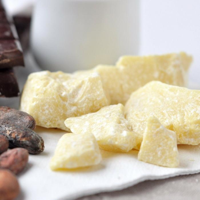 beurre de cacao baume à lèvres bio