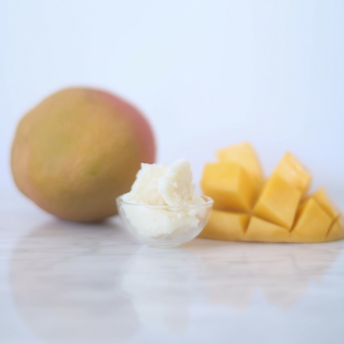 beurre de mangue- baume à lèvres bio
