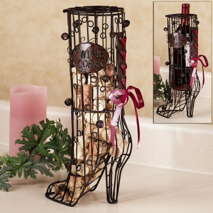 bouchon liège décoration table