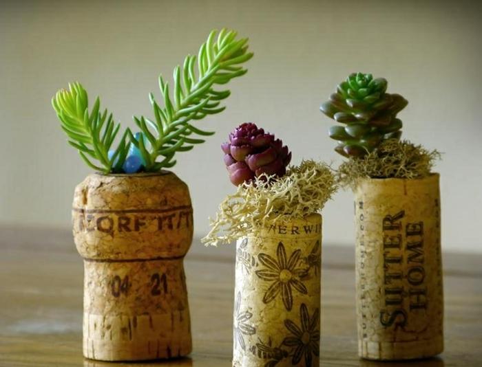 bouchon liège pot miniature