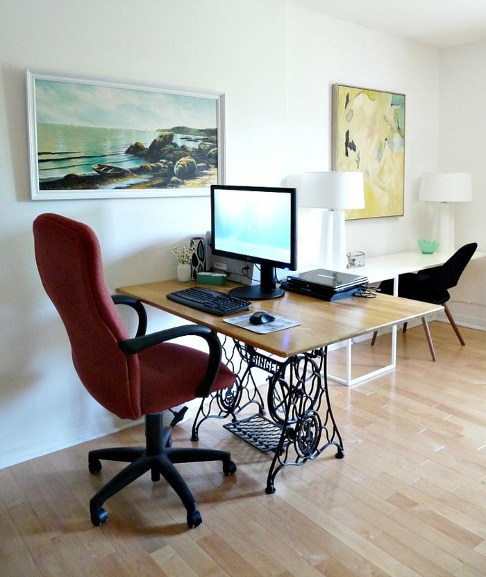 renaissance de l 39 ancienne machine coudre transformez la en d co. Black Bedroom Furniture Sets. Home Design Ideas