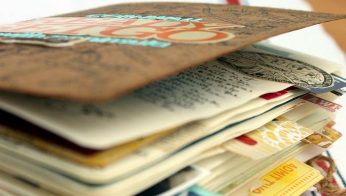 carnet de voyage réaliser
