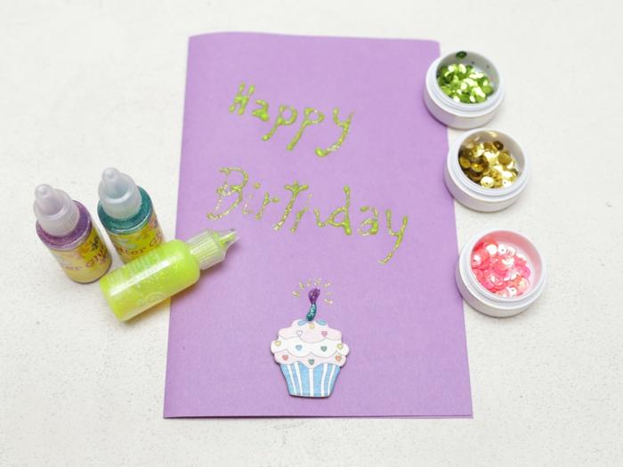 carte d' anniversaire enfant