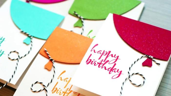 carte d' anniversaire
