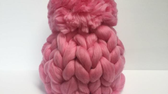 chapeau arm knitting