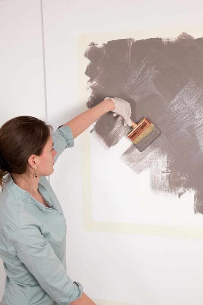 peinture effet chaux