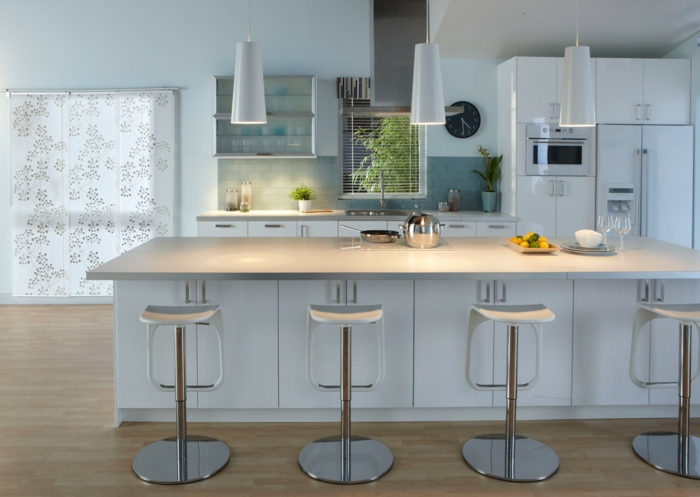 cuisine ikea blanche style scandinave
