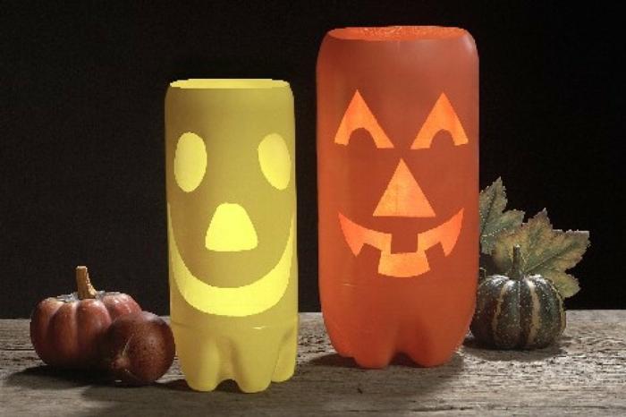 décoration halloween tubes papier toilette