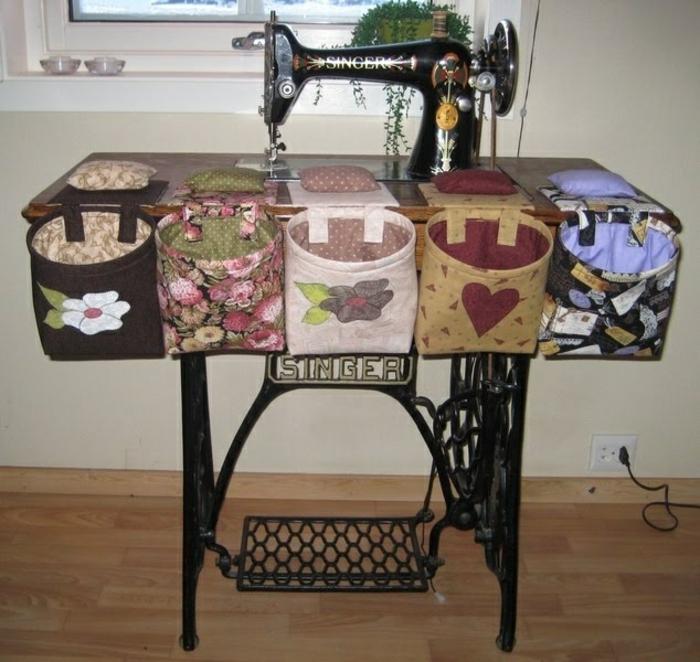 décorer pièce machine à coudre