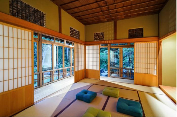 design intérieur pièce japon