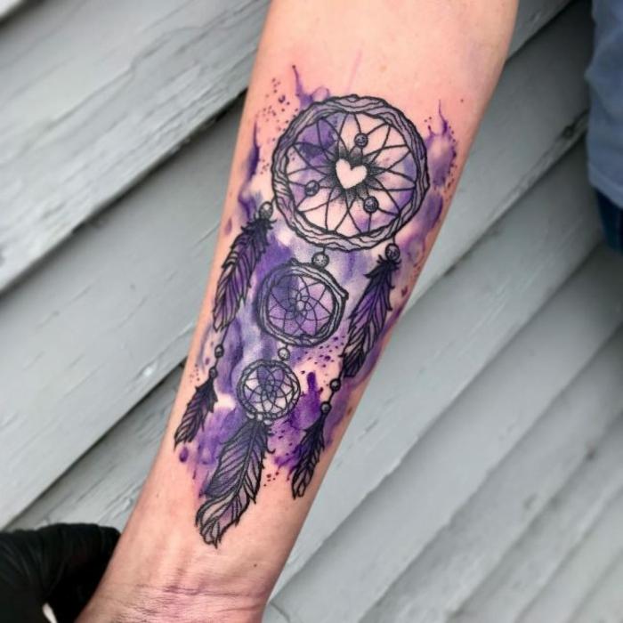 dessin intéressant tatouage attrape-rêve